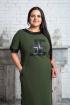 Платье Левлада 208 зеленый