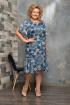 Платье Koketka i K 649 синие_тона