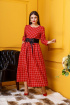 Платье Anastasia 334 красный