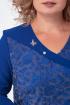 Платье Anelli 350 синий