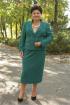 Блуза,  Жакет,  Юбка Classic Moda 566 зелень