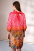 Платье Golden Valley 4358 коричневый_с_розовым