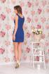 Платье Ninele 976 синий