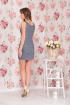 Платье Ninele 976 серый