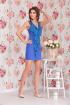Платье Ninele 5078 василек