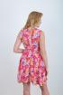 Платье Mita ЖМ864 розовое-цветы