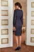 Платье Lissana 3879 синий