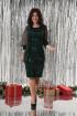 Платье Solomeya Lux 644 зеленый