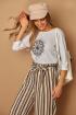 Блуза Lamajka L9238 белый