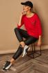 Блуза Lamajka L9262 красный