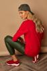 Блуза Lamajka L9278 красный