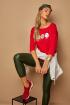 Блуза Lamajka L9280 красный