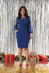 Платье Solomeya Lux 648 синий