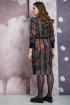 Платье Белтрикотаж 6870 серый+рыжий