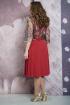 Платье Белтрикотаж 6875 красный