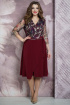 Платье Белтрикотаж 6875 бордо