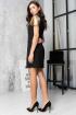 Платье LadisLine 1156 черный-золото