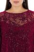 Платье Effect-Style 676 вишневый
