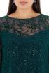 Платье Effect-Style 676 малахитовый