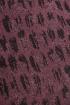 Платье Madech 195341 пурпурный,черный