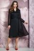 Платье Белтрикотаж 4264 черный+красный