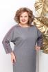 Платье Michel chic 960 серый