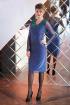 Платье Euromoda 194 синий