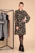 Платье Liona Style 596 черный