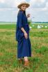 Рубашка Ружана 390-1 джинс
