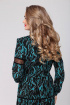 Платье Viola Style 0899 бирюза