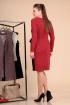 Платье Liona Style 594 красный