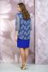 Платье Белтрикотаж 4273 василек