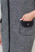 Платье БАГРЯНИЦА 2162 серый