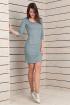 Платье T&A 059д голубой