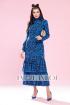 Платье Твой имидж 1190 синий
