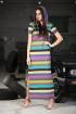 Платье DOGGI 3628 желтая_полоса