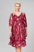 Платье ASV 2210 бордовый