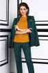 Блуза,  Брюки,  Жакет Lissana 3948 хвойно-зеленый