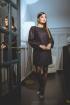 Платье Faufilure outlet С1028 фиолетовый