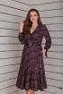 Платье Basagor 465 бургунд