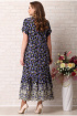 Платье Aira Style 739 анютины_глазки