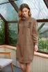 Платье Fantazia Mod 3602  коричневый
