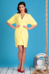 Платье Мода Юрс 2334 желтый