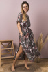 Платье Mirolia 731 хаки