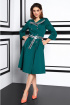 Платье Lissana 3924 изумруд