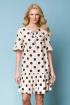 Платье ASV 2223 молочный,черный