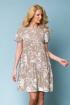 Платье ASV 1737 бежевый