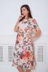 Платье Faufilure С837 дизайн_цветы