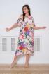 Платье Faufilure С837 дизайн_цветы+желтый