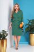 Платье Grace for you 180 зеленый